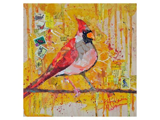 Femail Cardinal--Art Print