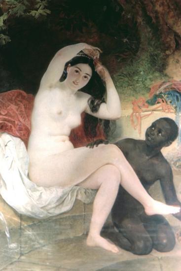 Female and David, 1832-Karl Briullov-Giclee Print