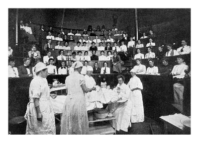 Female Doctors in Training--Giclee Print