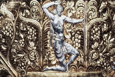 Female Figure, Decorative Detail from Ceiling of Grand Ballroom, Waldorf-Astoria Hotel--Giclee Print