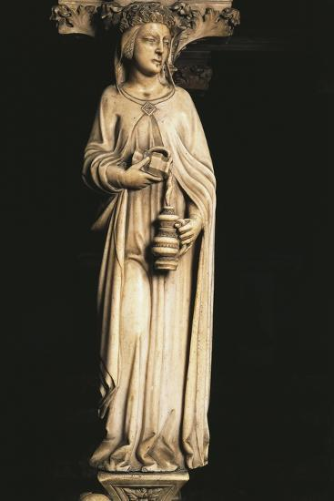 Female Figure, Detail from Tomb of Saint Peter Martyr, 1339-Giovanni Di Balduccio-Giclee Print