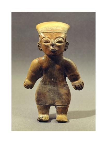 Female Figure Originating from Guangala, Ecuador--Giclee Print