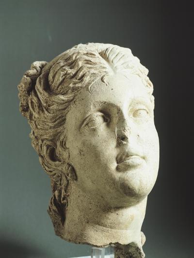 Female Head. Etruscan Civilization, 9th-1st Century BC--Giclee Print