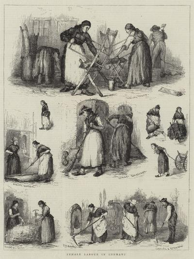 Female Labour in Germany--Giclee Print