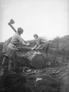 Female Lumberjacks!