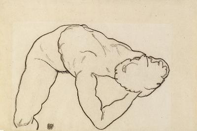 Female Nude, 1918-Egon Schiele-Giclee Print