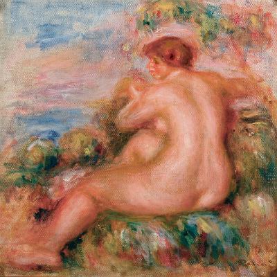 Female Nude in a Landscape, 1915-Pierre-Auguste Renoir-Giclee Print