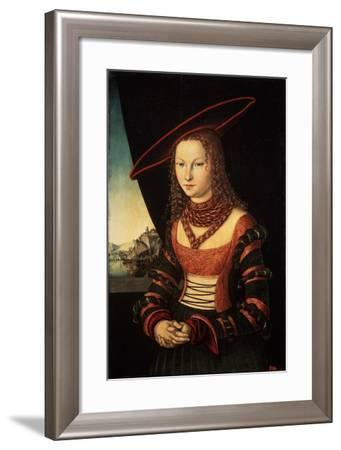 Female Portrait, 1526--Framed Giclee Print