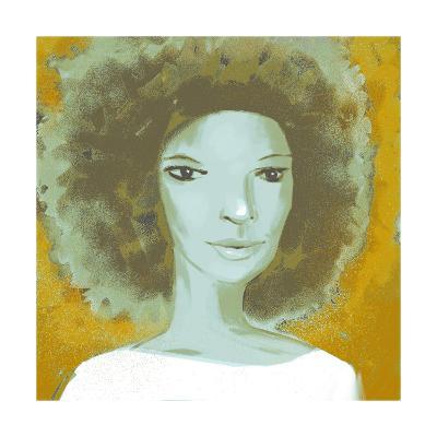 Female Portrait Color Series, No.2--Art Print