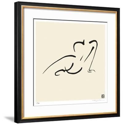 Female, Pose 9-Ty Wilson-Framed Giclee Print