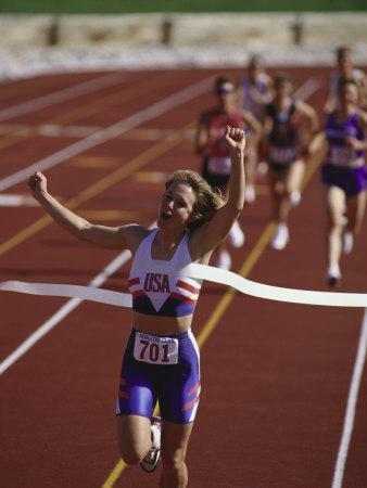 Track Race' Photographic Print