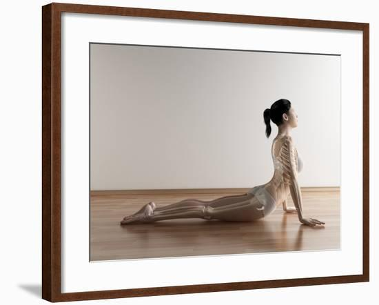Female Stretching, Artwork-SCIEPRO-Framed Photographic Print
