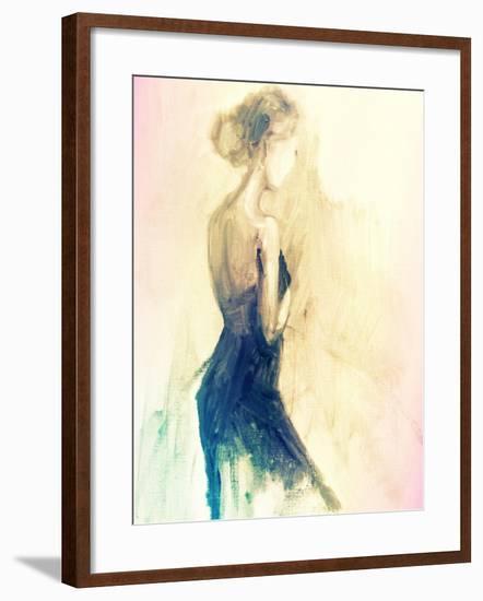 Feminine Solitude-Boho Hue Studio-Framed Art Print