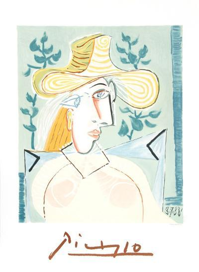 Femme a la Collerette-Pablo Picasso-Collectable Print