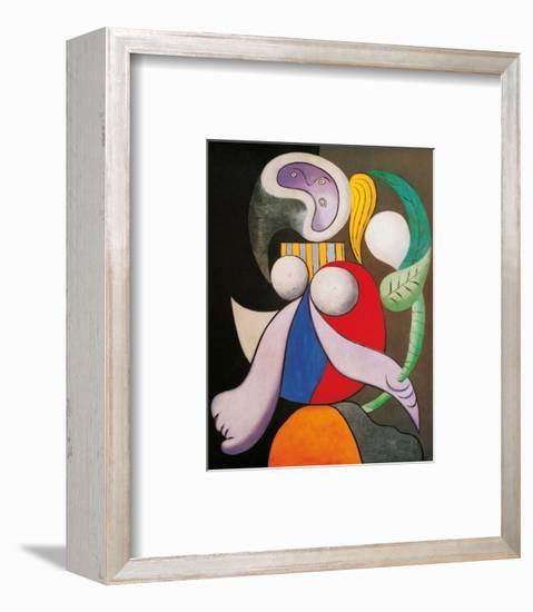 Femme a La Fleur, c.1932-Pablo Picasso-Framed Art Print