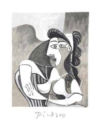 Femme Accoudee au Fauteuil-Pablo Picasso-Collectable Print