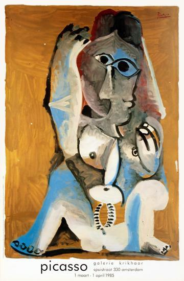 Femme Accroupie-Pablo Picasso-Collectable Print