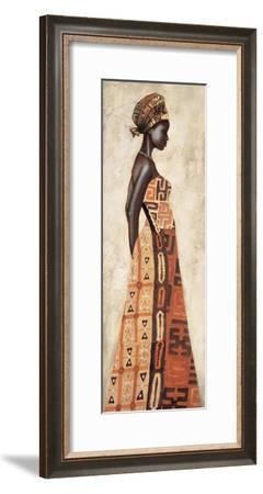 Femme Africaine I-Jacques Leconte-Framed Giclee Print