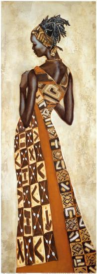 Femme Africaine II-Jacques Leconte-Art Print