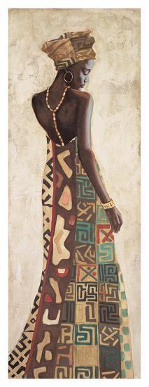Femme Africaine III-Jacques Leconte-Giclee Print