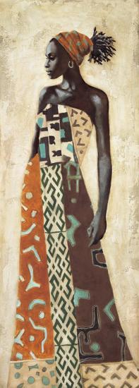 Femme Africaine IV-Jacques Leconte-Art Print