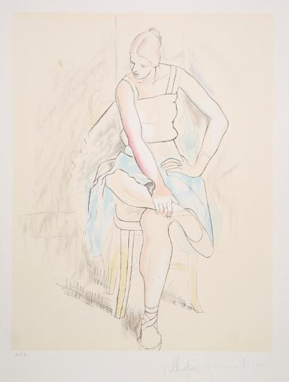 Femme Assise, 29-2-Pablo Picasso-Premium Edition