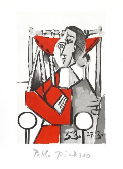 Femme Assise-Pablo Picasso-Collectable Print