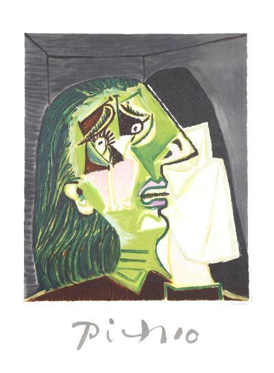 Femme au Mouchoir-Pablo Picasso-Collectable Print