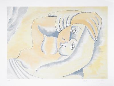 Femme Couchee, 23-8-Pablo Picasso-Premium Edition