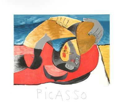 Femme Couchee-Pablo Picasso-Collectable Print