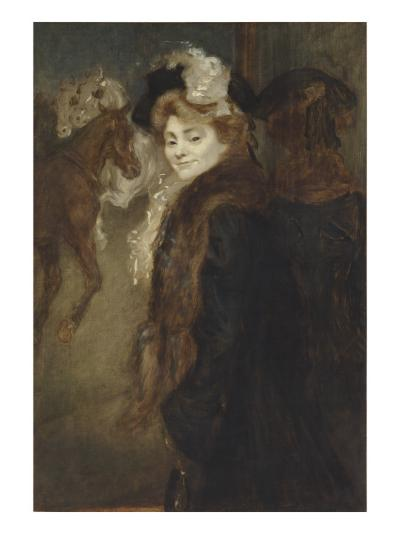 Femme dans le rue-Louis Anquetin-Giclee Print