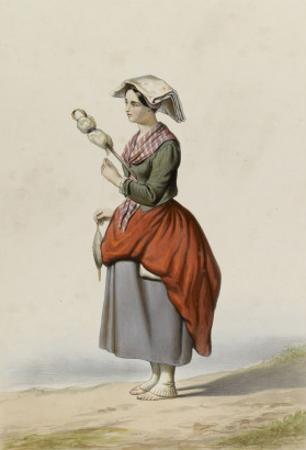 Femme de la Vallée de Campan (Hautes Pyrénées)