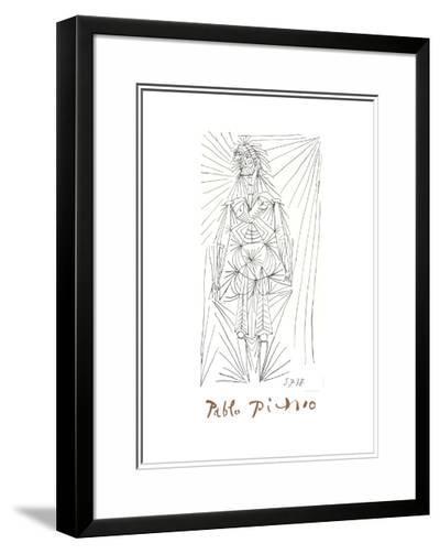 Femme Debout-Pablo Picasso-Framed Art Print