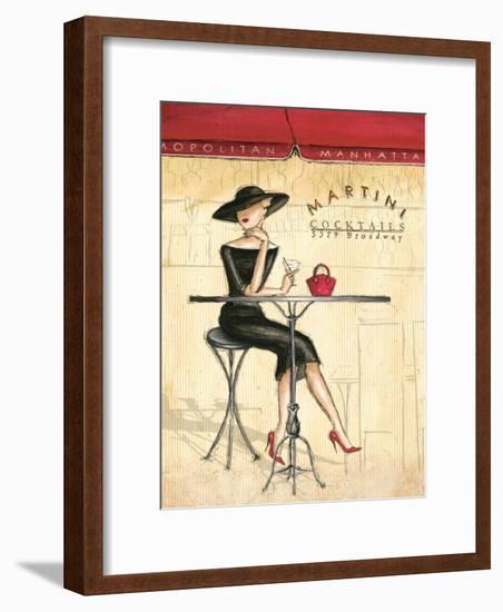 Femme Elegante III-Andrea Laliberte-Framed Art Print