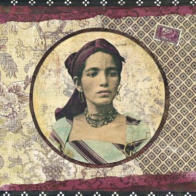 Femme Kabyle-Gwena?lle Trolez-Art Print