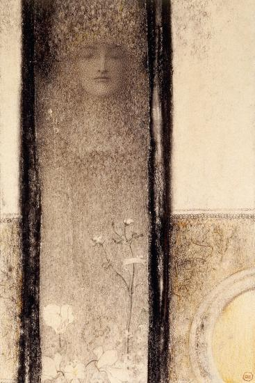 Femme Mysterieuse, c.1909-Fernand Khnopff-Giclee Print