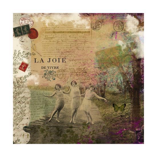 Femme Paris IX-Sandy Lloyd-Art Print