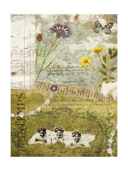 Femme Paris V-Sandy Lloyd-Art Print
