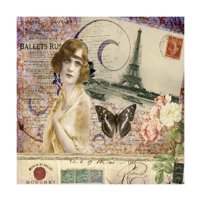 Femme Paris X-Sandy Lloyd-Art Print