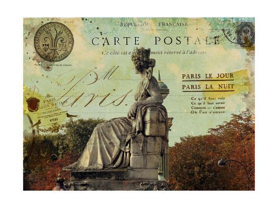 Femme Paris XI-Sandy Lloyd-Art Print