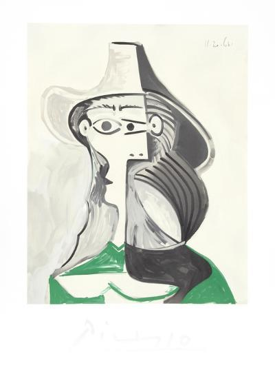Femme Profile-Pablo Picasso-Collectable Print