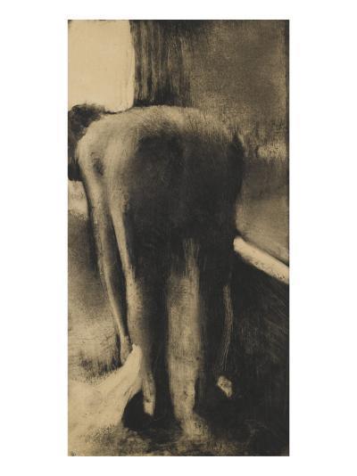 Femme s'essuyant les pieds-Edgar Degas-Giclee Print