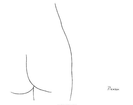 Femme-Pablo Picasso-Art Print