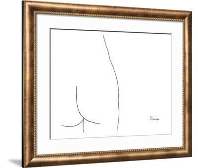 Femme-Pablo Picasso-Framed Art Print