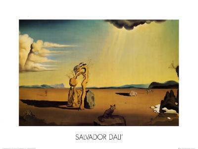 Femme-Salvador Dal?-Art Print