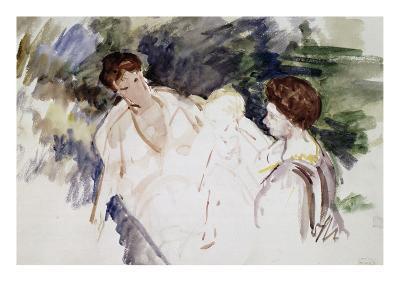 Femmes et enfants-Mary Cassatt-Giclee Print