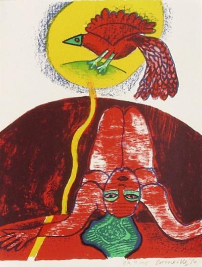 Femmes et oiseaux 3-Guillaume Corneille-Collectable Print
