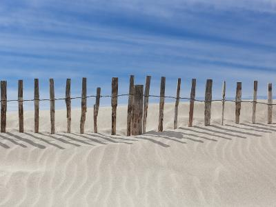 Fence on the Shore-Marco Carmassi-Photographic Print