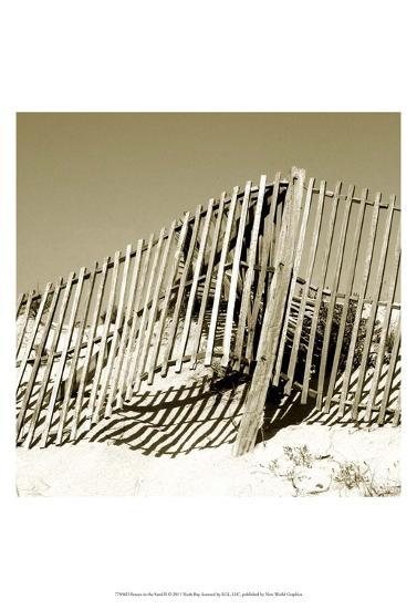 Fences in the Sand II-Noah Bay-Art Print