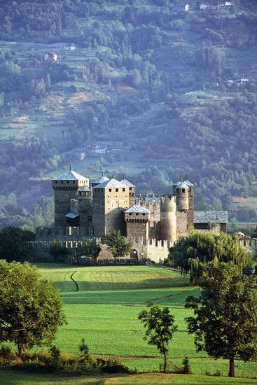 Fenis Castle (13th-18th Century), Aosta Valley, Italy--Photographic Print